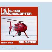 BRL32038 Brengun 1/32 Сборная модель Schiebel S-100 Camcopter