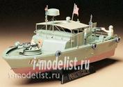 35150 Tamiya 1/35 Американский водометный патрульный катер PBR31MkII PIBBER с 4 фигурами и подставкой