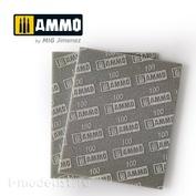 AMIG8555 Ammo Mig Шлифовальная губка (100) / SANDING SPONGE SHEET (100)