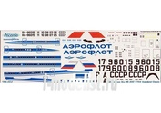 I96-002 Ascensio 1/144 Декаль на самолет Ильшин Ил-96 (Арофлот Clasic 90х)