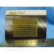 MD3508 Metallic Details 1/35 Фототравление Листья дуба