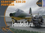 CP72001 Clear Prop! 1/72 Gloster E28/39 Pioneer