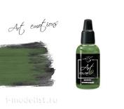 ART176 Pacific88 Краска акриловая Art Color Зелёно-оливковая (Olive Green)