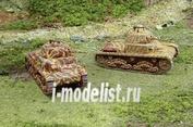 7517 Italeri 1/72 Carro Armato M13/40 (две модели в коробке для быстрой сборки)