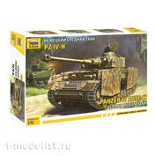 5017 Zvezda 1/72 German medium tank T-IV H