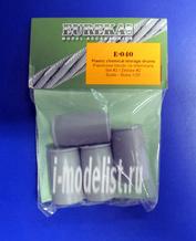 E-040 Eureka 1/35 Plastikowe beckzi na chemikalia Set #2