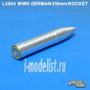 L3504 Lion Roar 1/35 German 210mm Nebelwerfer 41 Rockets