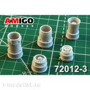AMG72012-3 Amigo Models 1/72 MiGG-21BIS / MiGG-21-93 Jet Nozzle engine P25-300