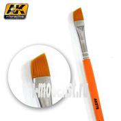 AK-578 AK Interactive DIAGONAL WEATHERING BRUSH / Скошенная кисть для нанесения эффектов