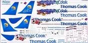 320-008 Ascensio 1/144 Декаль на самолет Arbus A320-200 (Thmmas Cook (новогодняя))