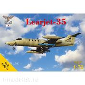 SVM-72019 SOVA-M 1/72 Самолёт Learjet-35 N541PA