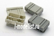 ZA35218 Zebrano 1/35 Capping for 125 mm shots, 3 pieces