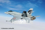 04874 Revell 1/48 Самолет F/A-18C Hornet Swiss Air Force