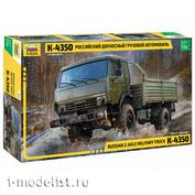 3692 Звезда 1/35 Российский двухосный грузовой автомобиль К-4350