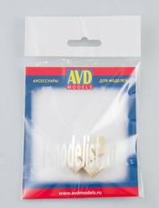 AVD143009104 AVD Models 1/43 Бочка деревянная 100л, 4 шт.