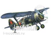 72012 ICM 1/72 И-15 Бис, советский истребитель-биплан