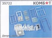 35722 Комбат 1/35 Двери, окна №1
