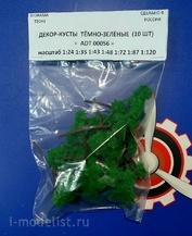 ADT00056 Tech Декор-кусты темно-зеленые (10шт)
