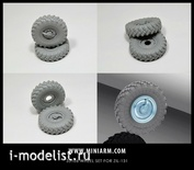 B35106 Miniarm 1/35 wheel Set for ZIL-131 (6pcs plus spare)