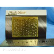 MD3514 Metallic Details 1/35 Фототравление Листья Лианы тип 4