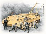 35342 ICM 1/35 Bergepanther с германским танковым экипажем