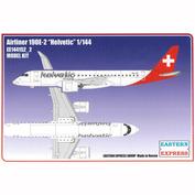 144152-2 Восточный экспресс 1/144 Авиалайнер EMB 190E2 HELVETIC AIRWAYS