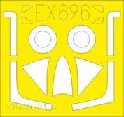 EX696 Eduard 1/48 Mask for the Hunter F. 4/ F. 5
