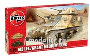 1317 Airfix 1/76 M3 Lee Grant Medium Tank