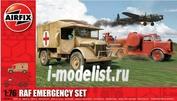 3304 Airfix 1/76 RAF Emergency Set (Скорая помощь с пожарной машиной)