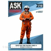 ASK48007 All Scale Kits (ASK) 1/48 Pilot of the Russian Air Force / VKS in the VMSK (tablet in hand) #1