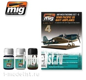 AMIG7417 Ammo Mig for WWII PACIFIC US NAVY AIRPLANES (aircraft of the United States, Pacific)