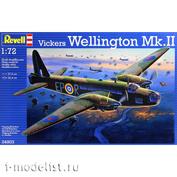 04903 Revell 1/72 Vickers Wellington Mk.II
