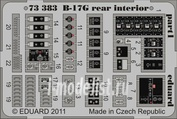 73383 Eduard 1/72 Фототравление для B-17G rear interior