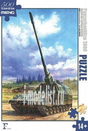 FS-004 Meng Пазл German Panzerhaubitze 2000 Self-Propelled Howitzer Puzzle