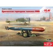 48405 ICM 1/48 Британская торпедная тележка IIMB