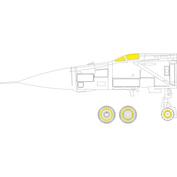 CX597 Eduard 1/72 Окрасочная маска для MiGG-25PD