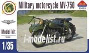 AIM35003 AIM Fan Model 1/35 Советский мотоцикл К-750 с коляской