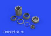 649509 Eduard 1/48 Набор дополнений  МuГ-23БН сопло двигателя