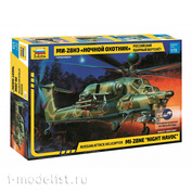7255 Zvezda 1/72 Russian night hunter attack helicopter