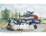 02261 Я-моделист Клей жидкий плюс подарок Trumpeter 1/32 Самолет Messerchmitt Me 262 A-1a clear edition