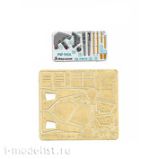 072019 Microdesign 1/72 Color Photo Etching Kit for FW-190A (Zvezda)