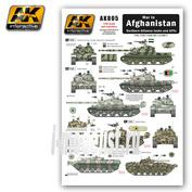 AK-805 AK Interactive War in AFGHANISTAN Nosthern Alliance tanks and AFV (декали для техники Северного Альянса, Афганистан)