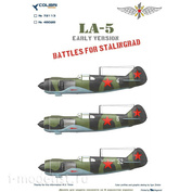 72113 ColibriDecals 1/72 Decal for La-5 (Early series)