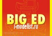 BIG3392 Eduard 1/32 Полный набор фототравления И-153 Чайка