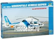 02819 Вертолет 1/48 Trumpeter  AEROSPATIALE SA365N2 DAUPHIN