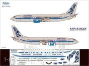 738-004 Ascensio 1/144 Декаль на самолет 737-800 (Московия)