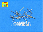 350 L-69 Aber 1/350 Set of 20 pcs 20 mm /65 Breda gun barrels for Italian Navy ships