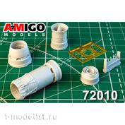 AMG72010 Amigo Models 1/72 MiGG-27K, MiGG-27D, MiGG-23BN Jet nozzle engine R-29B-300