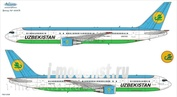 763-008 Ascensio 1/144 Scales the Decal on the plane Boeng 767-300 (Uzbekiston Havo Yullari)