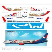 757200-14 PasDecals 1/144 Декаль на 757-200, Azur AIR The Land of Legends